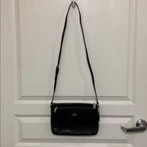 Black Coach Sling/Crossbody Purse